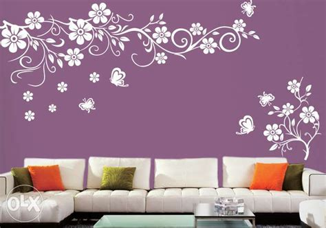 wall paint designs flower ambershop co