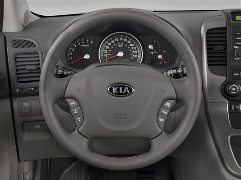 kia steering wheel 2008 kia sedona kia minivan review automobile magazine