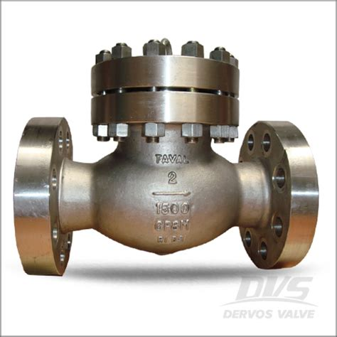 6 inch swing check valve cf8m check valve api 6d 1500lb 16 inch dervos