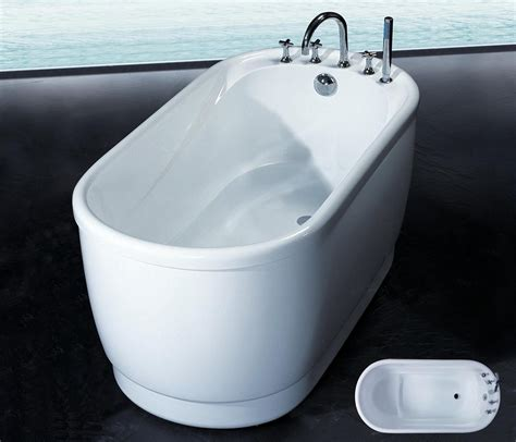 bathtub 1400mm piccolo 1400mm freestanding acrylic baths