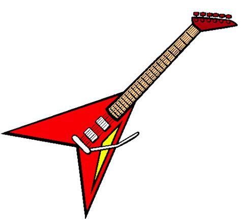 imagenes de guitarras electricas rockeras dibujos de guitarras de rock imagui