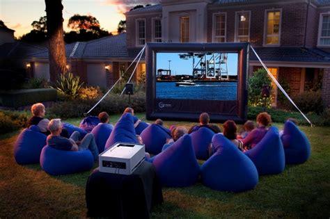 backyard movie backyard movie screen diy outdoor home design garden