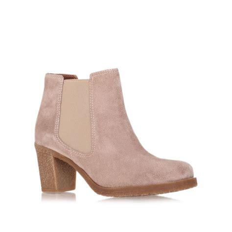 carvela kurt geiger slide boots in brown for beige