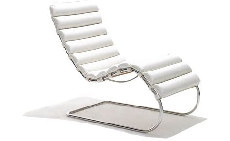 mies van der rohe chaise lounge mr chaise lounge hivemodern com