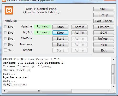 cara membuat website di xammp cara membuat web dinamis sederhana php dan mysql bagian 1