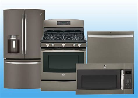 Slatefm2 Ge Builder S Special Package 4 Appliance Package Includes Free Microwave