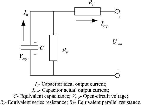 capacitor equivalent circuit model supercapacitor equivalent circuit 28 images modeling layer capacitor behavior using ladder