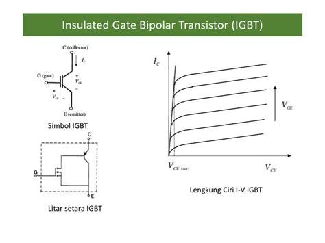 transistor bipolar igbt ppt peranti elektronik kuasa powerpoint presentation id 3839171