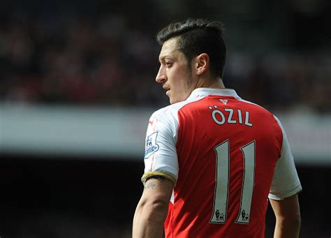 mesut ozil named arsenal player of the year after record breaking
