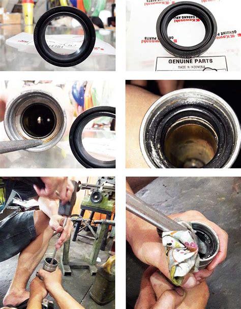 Pelindung Sok Depan Maintenance Sil Sok Depan Klx 150