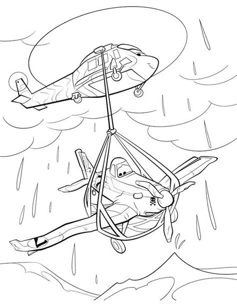 Free Coloring Pages Of Planes Skipper Skipper Coloring Pages