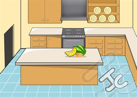 kitchen cartoon kitchen background 4 styles opengameart org