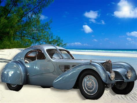 Bugatti 57sc atlantic 1936 Wallpapers and Backgrounds