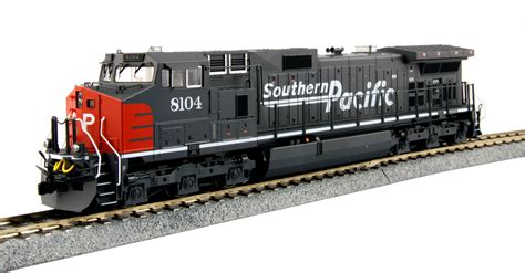 Truck Isi 2 Pcs kato diesel locomotive ge c44 9w southern pacific ho