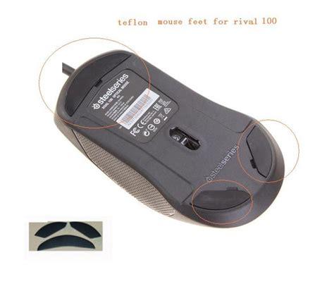 Wajan Teflon 1 Set 1 set mouse for steelseries rival 100 performance level teflon mouse pad mouse skates in
