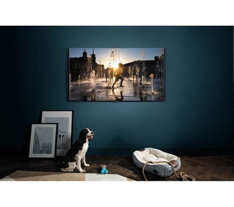buy samsung qe55q7fam 55 quot smart 4k ultra hd hdr qled tv free delivery currys