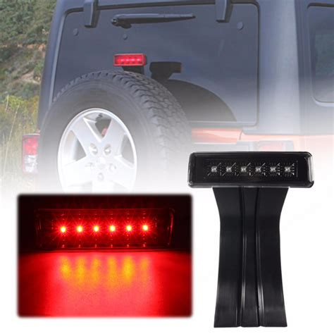 jeep wrangler 3rd brake light 3rd third brake light high mounted stop l rear