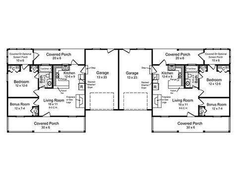 multi family house plans duplex multi family house plans duplex multi family house plan 031m 0020 duplex plan multi
