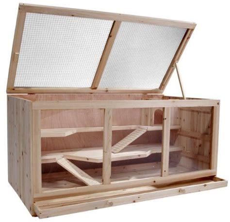 Cage Pour Souris 531 by Leopet 174 Cage En Bois Pour Rongeurs Nkh 116 3 115 X
