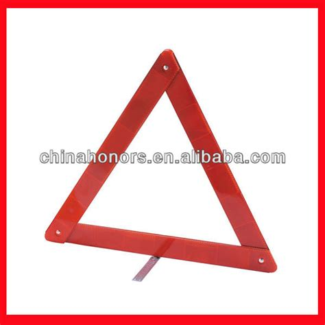 cheap triangles portable traffic road sign red triangle