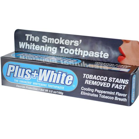 toothpaste whitening plus white the smokers whitening toothpaste cooling