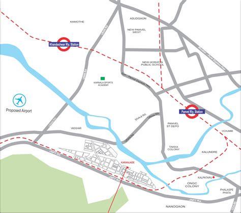 cidco layout plan karanjade om group om asharay plot no 76 sector 6 karanjade