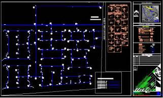 potable water network dwg block  autocad designs cad