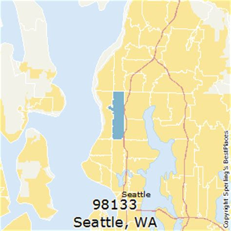 zip code maps seattle best places to live in seattle zip 98133 washington