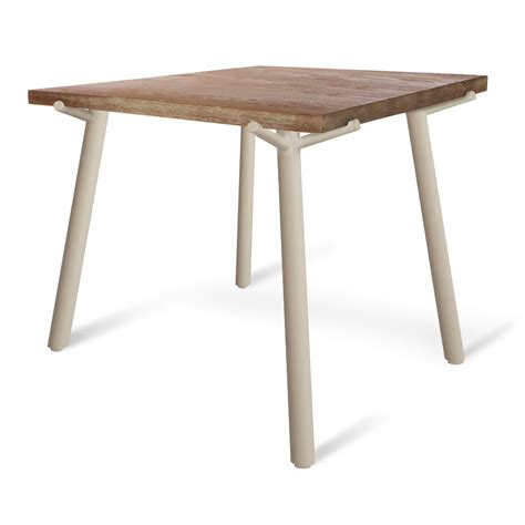 branch dining table modern square dining table blu dot