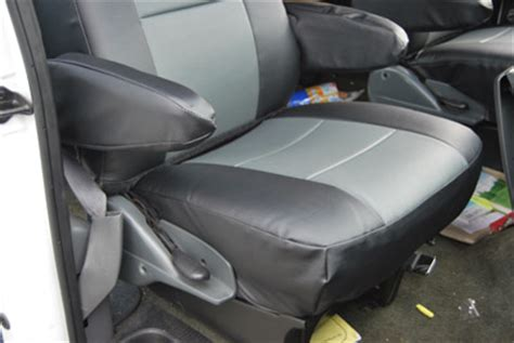 ford e350 seat covers ford e 150 club wagon leather like custom seat cover ebay