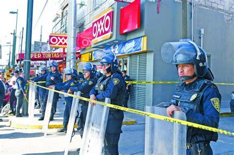 tiendas oxxo iztapalapa escopetazo mata a ladr 243 n de oxxo en iztapalapa el