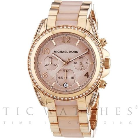 Authentic Mk Blair Code Mk 5859 mk5943 michael kors gold metal bracelet for sale at tic watches