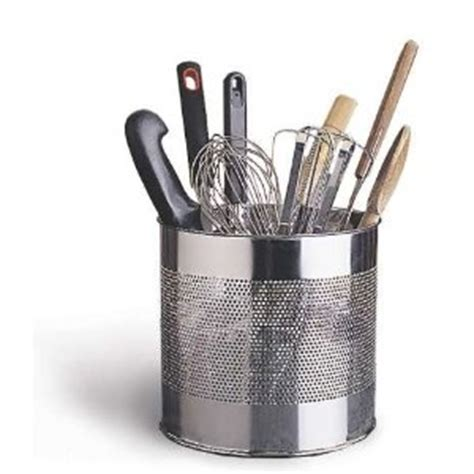Kitchen Tool Caddy by Endurance Precision Pierced Tool Caddy Utensil Holders