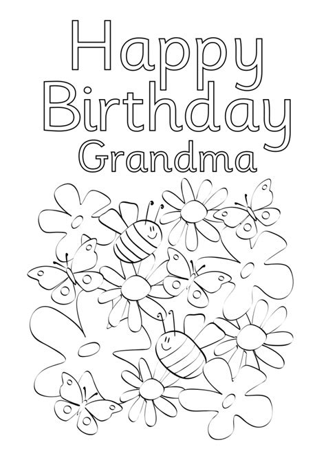 printable coloring birthday cards birthday party ideas