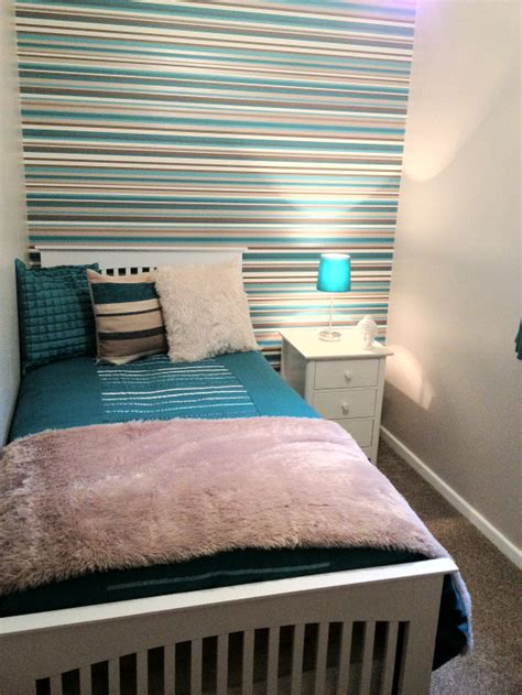 teal  white bedroom ideas home desirable