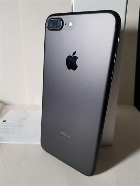 iphone 7 plus 128gb original completo cx e nota fiscal black r 3 200 00 em mercado livre