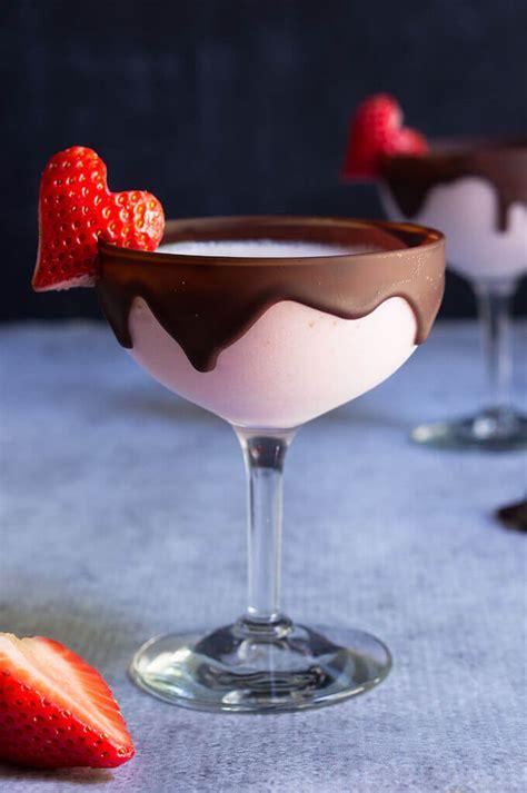 martini strawberry chocolate strawberry martini
