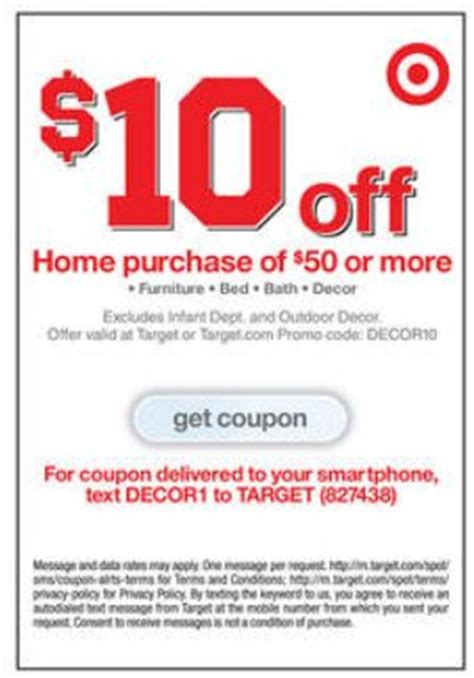 target threshold home decor 20 off coupons all target 5 15 personal care 15 50 pet care and 10