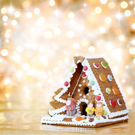 Gingerbread House Outdoor Decorations 唯美糖果屋高清图片 时尚图片 高清图片 素彩网