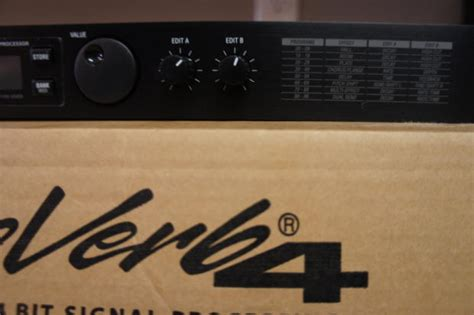 Alesis Microverb Preset Programmable 24 Bit Signal Processing alesis microverb 4 reverb