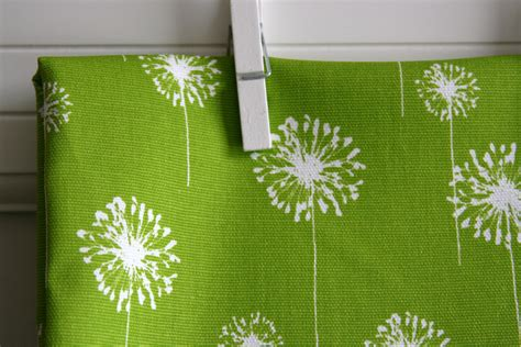 home decor weight fabric chartreuse dandelion home decor weight fabric by sewfinefabric