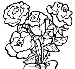 roses to color vine coloring pages coloring pages
