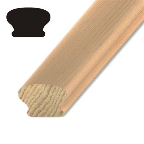 kelleher 1 5 8 in x 2 3 8 in pine handrail p506