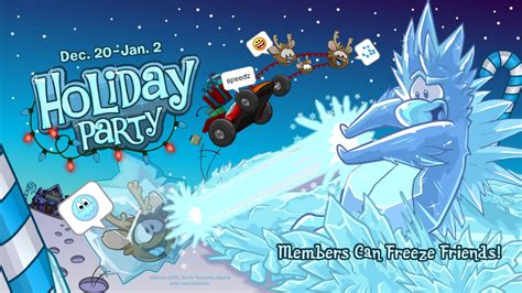 club penguin holiday party everything awesome