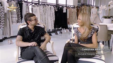 fashion design interview questions christian siriano designer interview fashion one tv