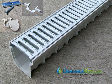 patio drainage products trench drain grates driveway images