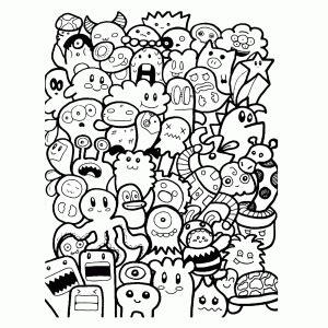 doodle interpretation name uitdagende kleurplaten voor tieners volwassenen leuk