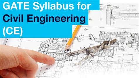gate exam pattern mechanical engineering gate 2018 syllabus for civil engineering ce gate