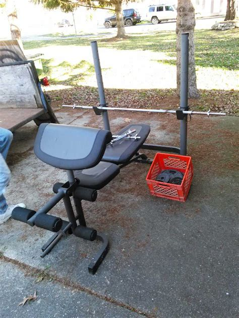 weider 135 weight bench letgo weider pro 340 l weight in harrison township mi
