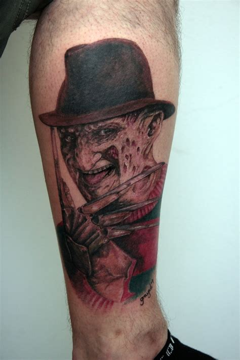 freddy krueger tattoo freddy krueger by graynd on deviantart